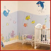 Fun To See Room Mural Sticker Kits